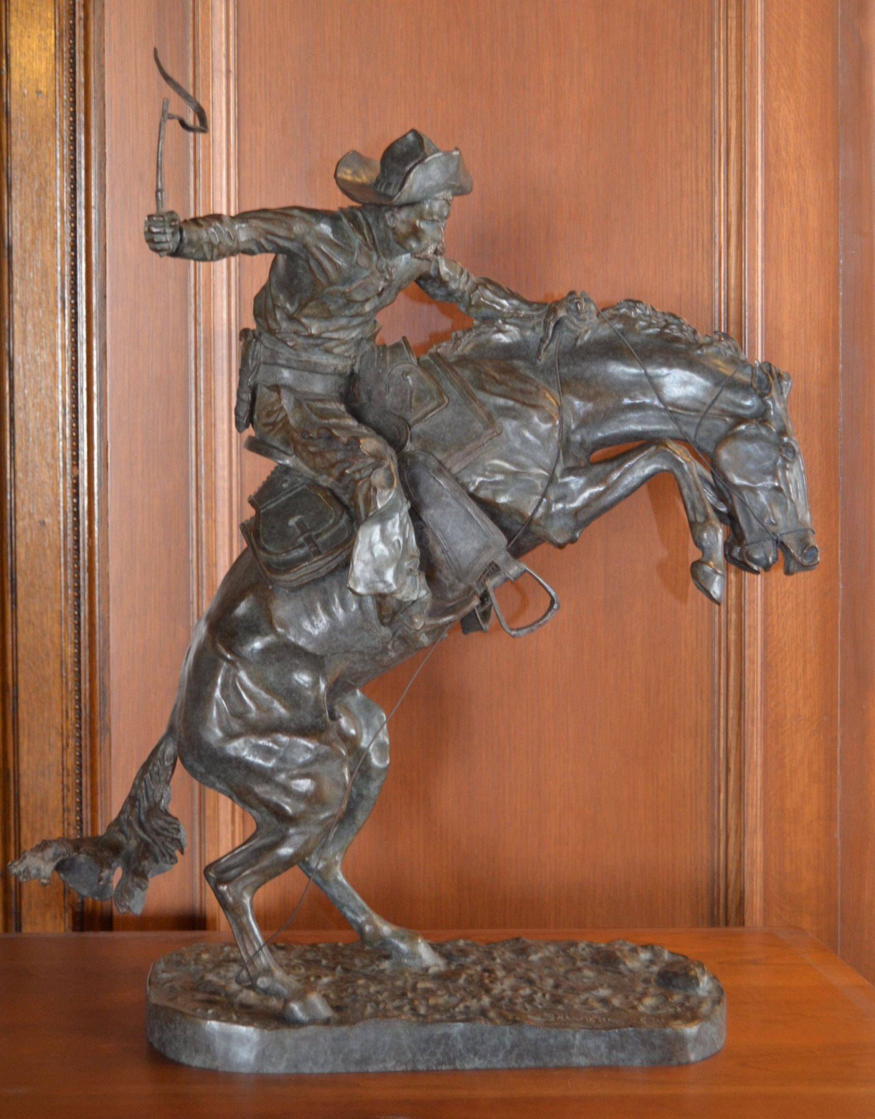 The Broncho Buster Digital Bronze