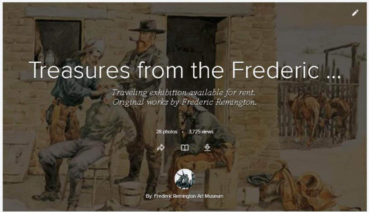 Treasures from the Frederic Remington Art Museum
